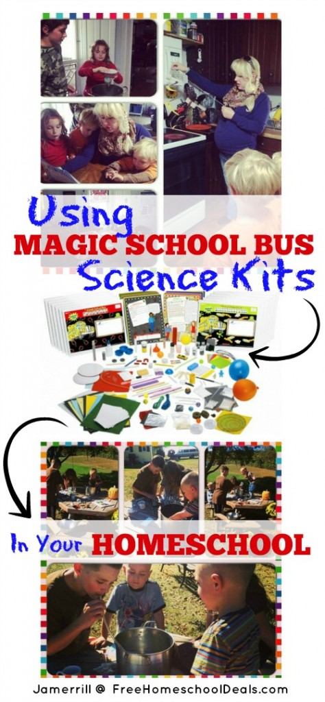 Using Magic School Bus Science Kits in Your Homeschool!