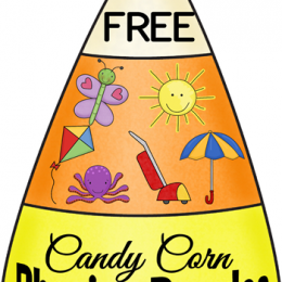 FREE Candy Corn Puzzles