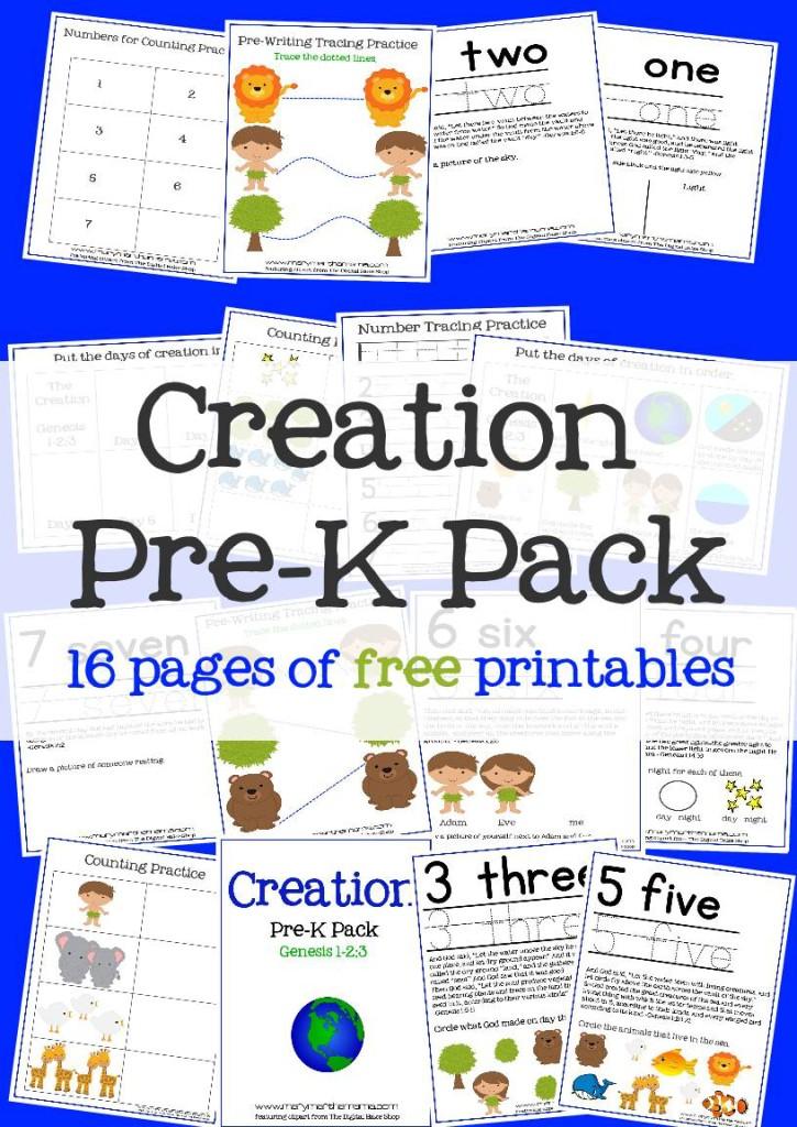 Free Creation Preschool Pack