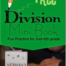FREE Division Mini-Book