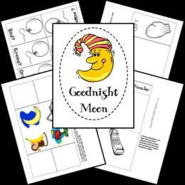 FREE Goodnight Moon Lapbook