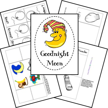 printable goodnight moon coloring pages - photo#18