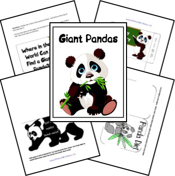 FREE Panda Lapbook