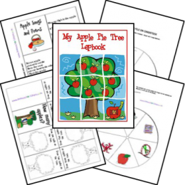 FREE My Apple Pie Tree Lapbook