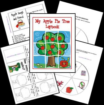FREE Apple Pie Lapbook