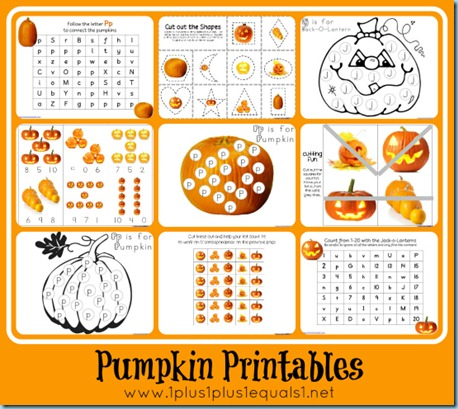 free pumpkin printables for prek k free homeschool deals. Black Bedroom Furniture Sets. Home Design Ideas