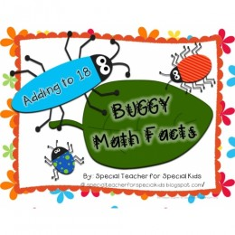FREE Buggy for Addition Math Facts!