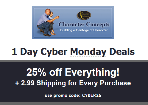 Character concepts plus pay only 2 99 shipping just use coupon code