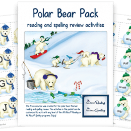 Free Polar Bear Learning Pack ($10 Value!)