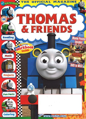 Thomas & Friends Magazine Only $14.99/Year!