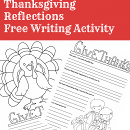 FREE THANKSGIVING WRITING PACK (Instant Download)