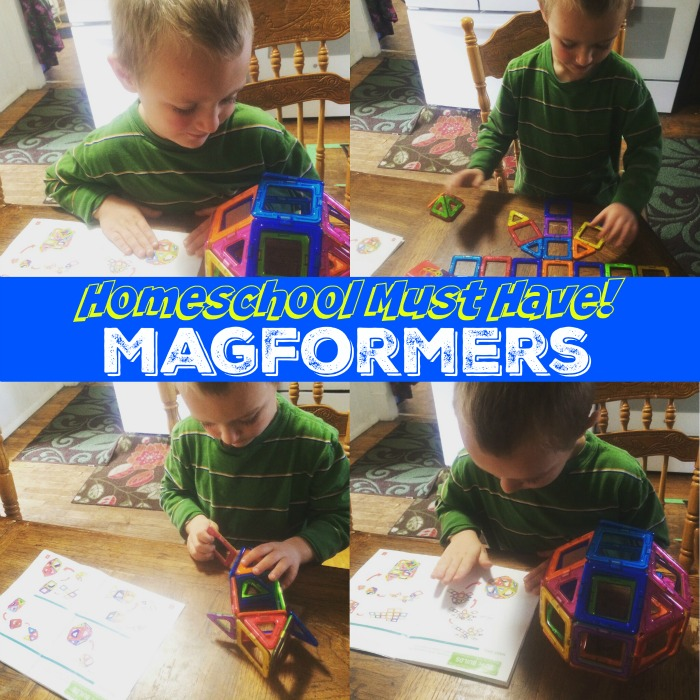 Magformers are a Homeschool MUST HAVE!