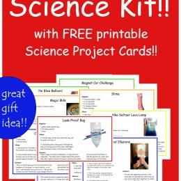 FREE Science DIY Kit Cards