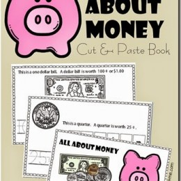 FREE All About Money Printables Pack