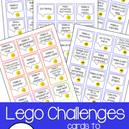 FREE Set of 250 Lego Printables Cards