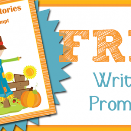 FREE Fall Short Story Writing Prompts