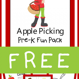 FREE Apple Picking PreK Fun Pack