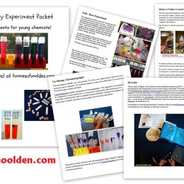 Free Chemistry Experiment Packet for Kids