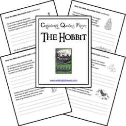 FREE The Hobbit Copywork Pages