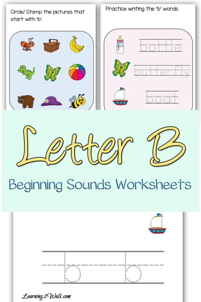 free letter b beginning sounds worksheets free homeschool deals. Black Bedroom Furniture Sets. Home Design Ideas