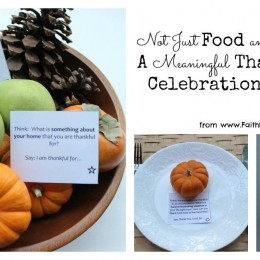 FREE Meaningful Family Thanksgiving Celebration Guide