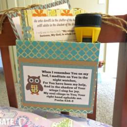 FREE Bible Meditation Box Printable Set