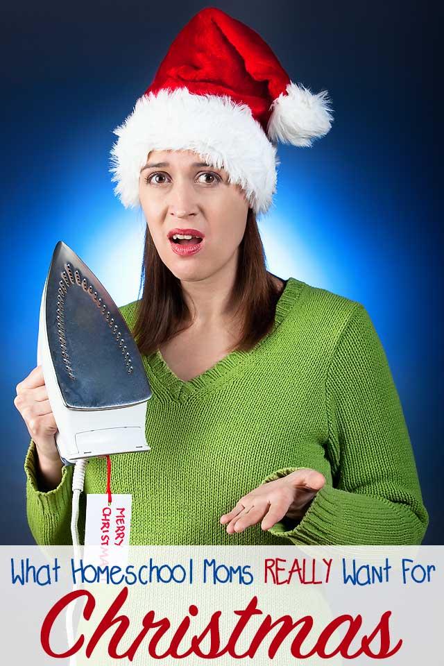 Homeschool Mom Christmas List