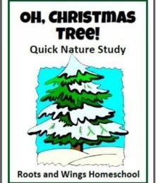 Free Oh, Christmas Tree! Nature Study