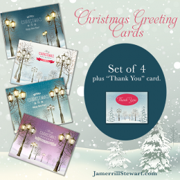 Free Christmas Card Set!