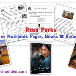 FREE Rosa Parks Notebooking and Unit Study