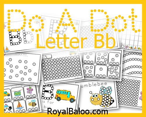 FREE Letter B Printables