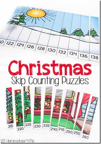 FREE Christmas Skip Counting