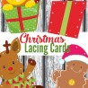 FREE Christmas Lacing Cards