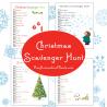 Free Christmas Scavenger Hunt Printables