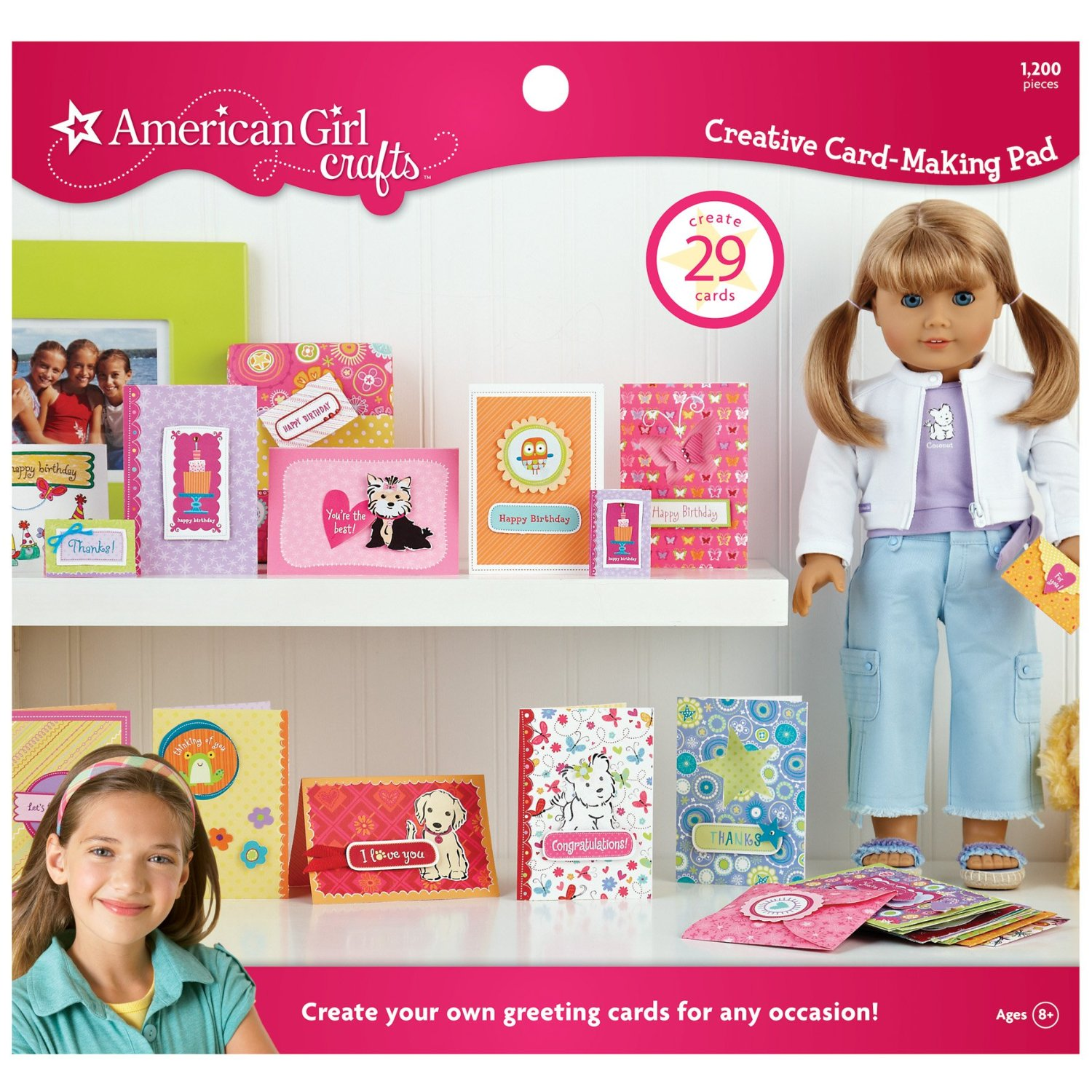 American Girl Creative Card-Making Pad Only $10.52! (Reg. $16.49!)