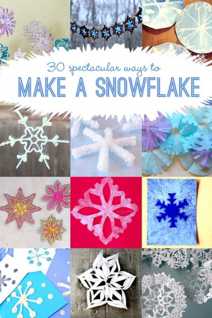 30 Ways to Make a Snowflake