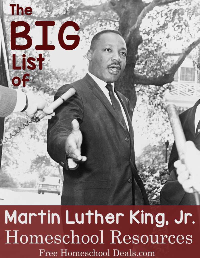 Bookmarks to color of dr king - The Big List Of Free Martin Luther King Jr Homeschool Resources Free Homeschool Deals
