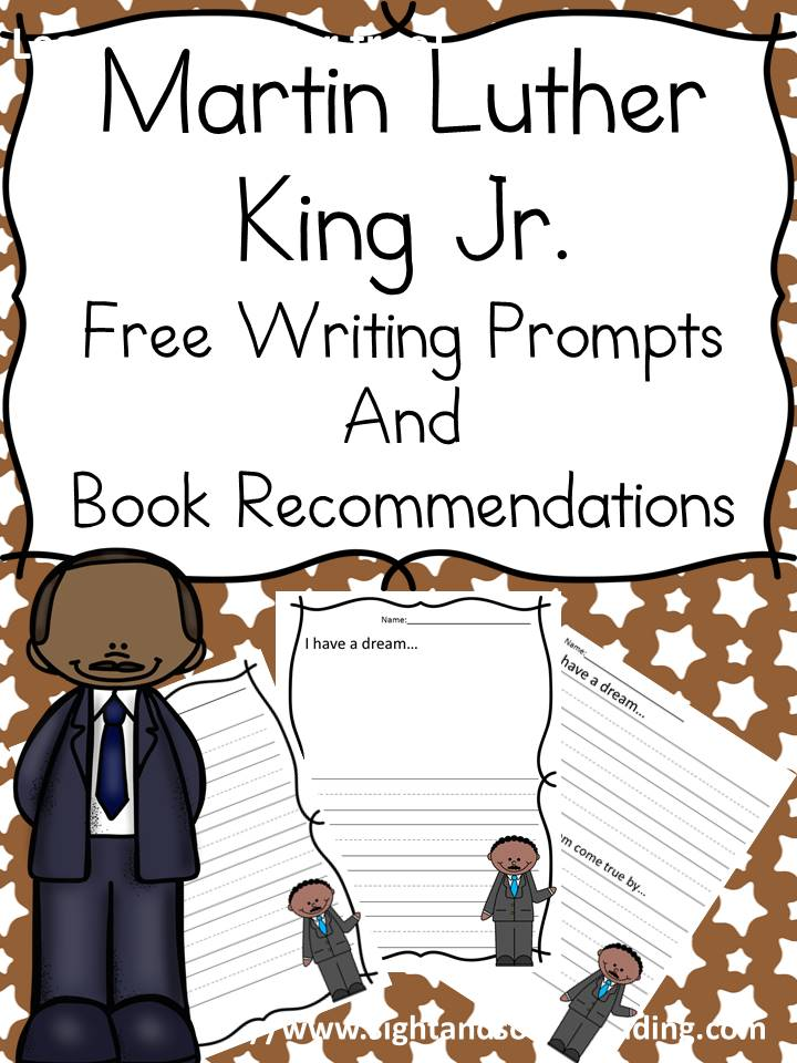 Free Martin Luther King Printable Packet for Pre-K and K – Includes ...