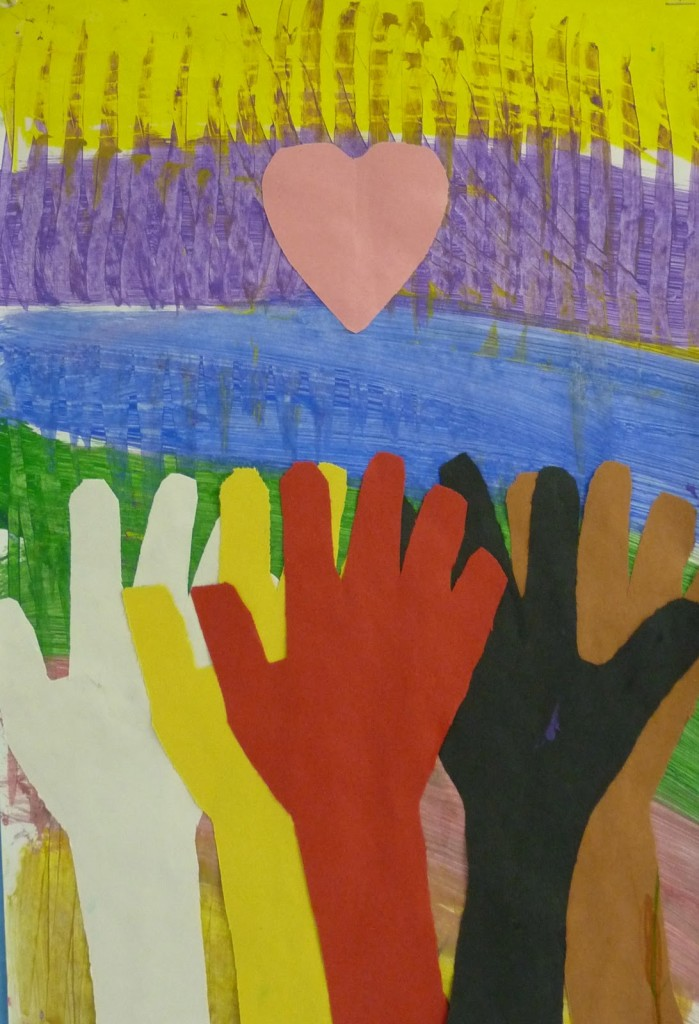 MLK Inspired Handprint Activity