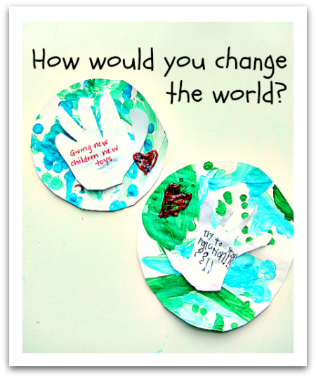 How Would You Change the World? MLK Activity