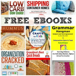 FREE EBOOKS: Crafts For Kids, Low Carb Slow Cooker + More!