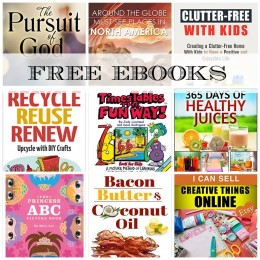 FREE EBOOKS: Clutter-Free With Kids, Times Tables the Fun Way + More!