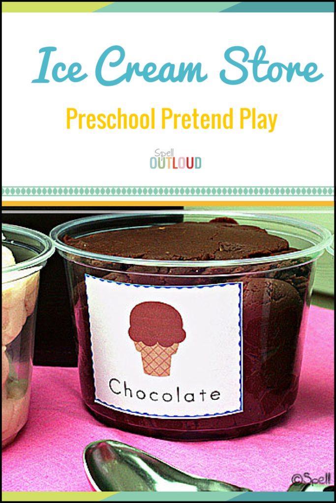 Pretend Play Ice Cream Store