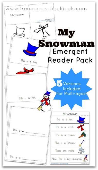 Snowman Emergent Readers
