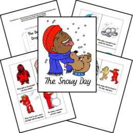 FREE The Snowy Day Lapbook