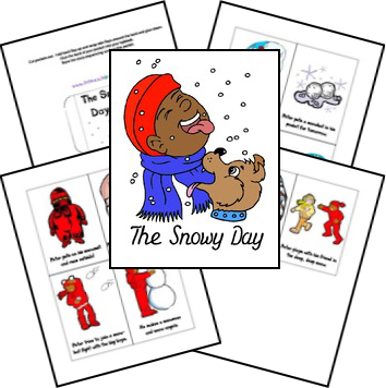 The Snowy Day Lapbook
