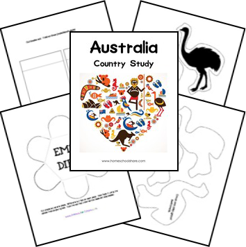 FREE Australia Lapbook