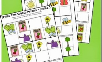 FREE Spring Puzzles