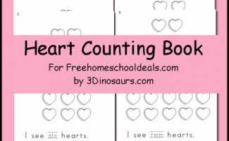 FREE Heart Counting Book