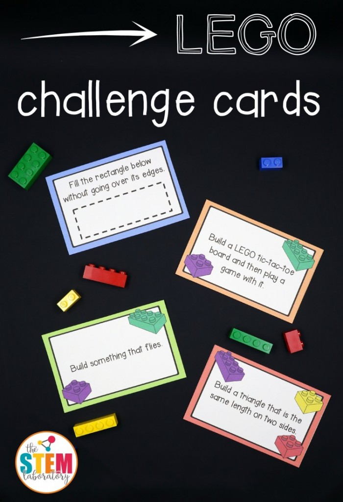 Free Scratch Cards >> FREE Lego Challenge Printable STEM Activities | Free Homeschool Deals